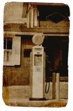 Bomba de gas de la vendimia foto de archivo
