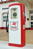 Bomba de gas especial de Mobilgas Fotografía de archivo