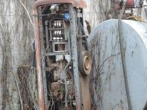Bomba de gas vieja foto de archivo