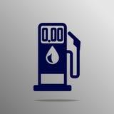 Bomba de gasolina Foto de archivo libre de regalías