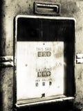 Bomba de gasolina de la vendimia fotos de archivo