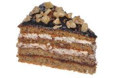 Bomba de la caloría de la torta de la nuez Imagen de archivo libre de regalías