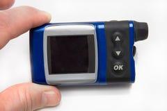 Bomba de la insulina para la diabetes fotografía de archivo libre de regalías