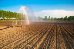 Bomba de la irrigación foto de archivo libre de regalías