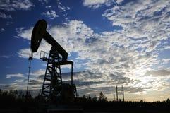 Bomba de petróleo Foto de Stock Royalty Free