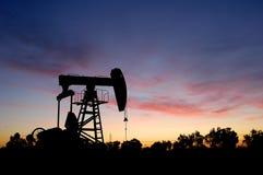 Bomba de petróleo foto de archivo