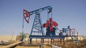 Bomba de petróleo Extração da estação de bombeamento do óleo filme
