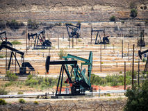 Bomba de petróleo Indústria petroleira equipment Imagem de Stock Royalty Free