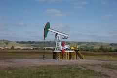 Bomba de petróleo Industria de petróleo equipment Imágenes de archivo libres de regalías