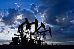 Bomba de petróleo Fotos de archivo