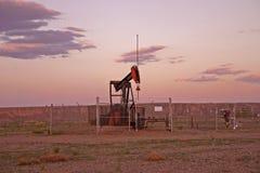 Bomba de petróleo Fotografia de Stock