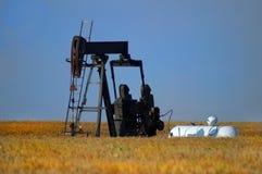 Bomba de petróleo Imagen de archivo