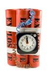 Bomba de relojería foto de archivo