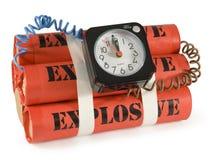 Bomba de relojería foto de archivo libre de regalías
