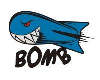 Bomba de Rocket Imagens de Stock Royalty Free