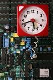 Bomba de tempo dos dados Fotos de Stock Royalty Free