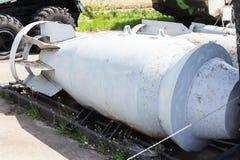 Bomba de uso geral dos aviões de Hoge Arma alto-explosiva do aierail o mais grande na terra Conceito da raça de armamentos da gue foto de stock