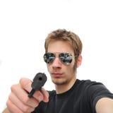 Bomba del apretón de pistola Imagenes de archivo