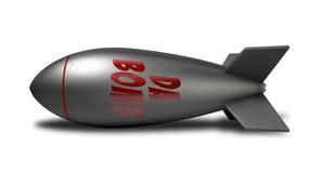 Bomba del Da illustrazione di stock