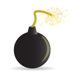 Bomba del fumetto Fotografie Stock Libere da Diritti