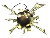 Bomba del oro libre illustration