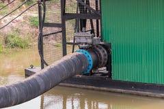 bomba del tubo de agua Foto de archivo