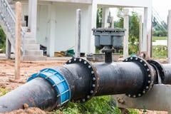bomba del tubo de agua Fotografía de archivo libre de regalías