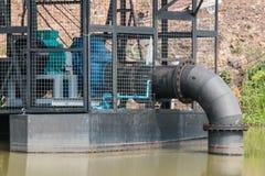 bomba del tubo de agua Imagen de archivo libre de regalías