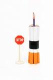 Bomba della sigaretta Fotografie Stock