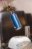 Bomba della Tabella andata via Fotografia Stock Libera da Diritti
