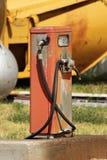 Bomba diesel vieja Fotografía de archivo