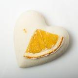 A bomba do banho de sal decorou a laranja imagens de stock royalty free