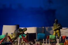 Bomba do computador do conceito do terrorismo do Cyber Imagem de Stock
