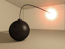 bomba do terrorismo 3d Imagem de Stock Royalty Free