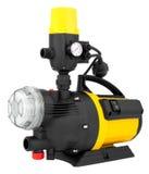Bomba eléctrica para la irrigación Imagenes de archivo