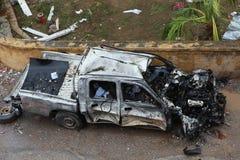 BOMBA EN REYHANL?, HATAY Imagen de archivo libre de regalías