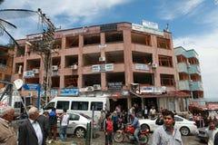 BOMBA EN REYHANLI, HATAY Fotografía de archivo