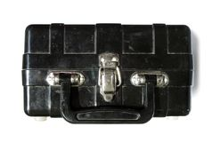Bomba en una maleta fotos de archivo libres de regalías