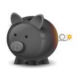 Bomba financiera Imagen de archivo libre de regalías