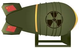 Bomba atômica da aviação chinesa Foto de Stock