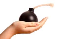 Bomba no disfarce Imagem de Stock