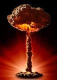 Bomba nuclear Fotos de Stock