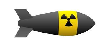 Bomba nuclear Imagen de archivo libre de regalías