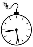 Bomba a orologeria illustrazione di stock