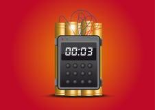 Bomba a orologeria Immagini Stock