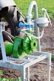 Bomba para a irrigação Foto de Stock