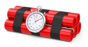 A bomba-relógio Imagens de Stock