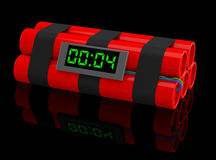 A bomba-relógio Foto de Stock
