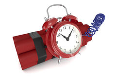 Bomba-relógio Imagens de Stock