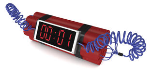 Bomba-relógio Fotografia de Stock Royalty Free